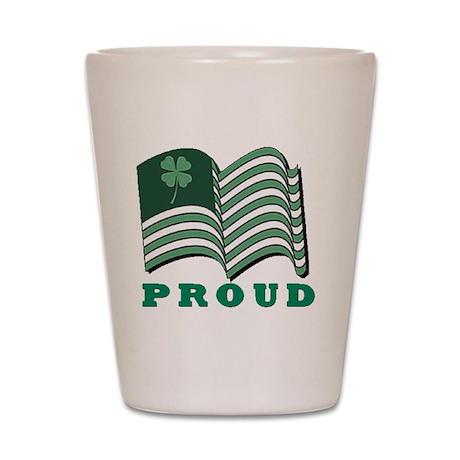 Proud Irish American Shot Glass