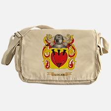 Logan Coat of Arms - Family Crest Messenger Bag