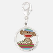 sock monkey popcorn Charms