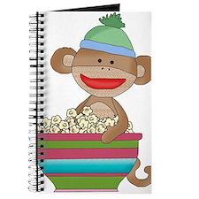sock monkey popcorn Journal