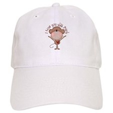 I love you monkey Baseball Baseball Cap