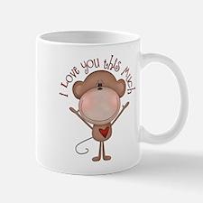I love you monkey Mug