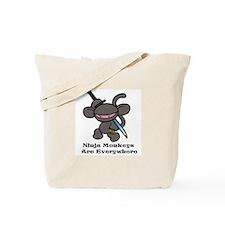 Ninja Claw Tote Bag