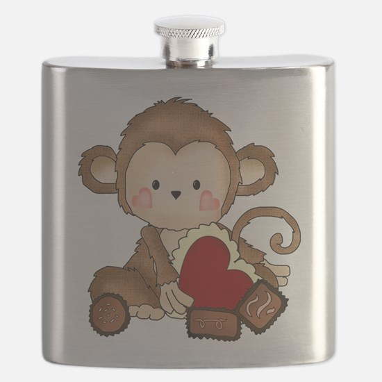 Monkey with candy Flask