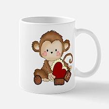 Monkey with candy Mug