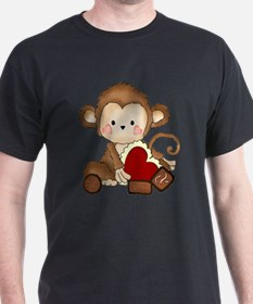 Monkey with candy T-Shirt