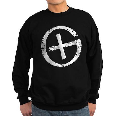 Geocaching Symbol Distressed Sweatshirt (dark)