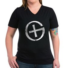 Geocaching Symbol Distressed Shirt