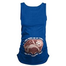 agorababia-family-T.png Maternity Tank Top