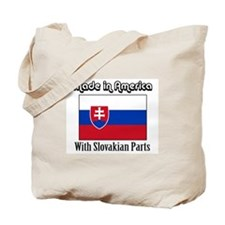 Slovakian Parts Tote Bag