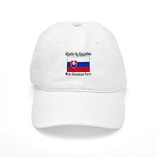Slovakian Parts Baseball Cap