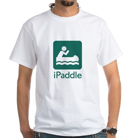 iPaddle #2 White T-Shirt