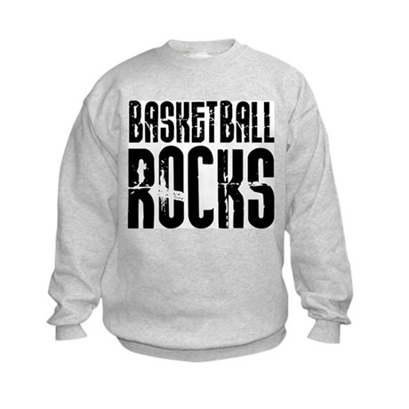 Basketball Rocks Kids Sweatshirt