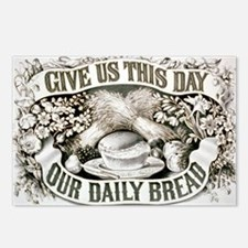 Give us this day our daily bread - 1872 Postcards