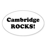 Cambridge rocks Bumper Stickers