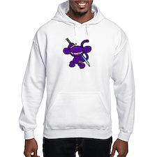 Lavender Claw Hoodie Sweatshirt