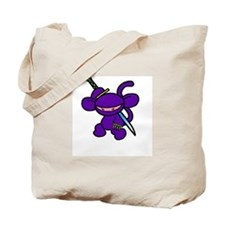 Lavender Claw Tote Bag