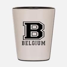 Belgium Designs Shot Glass