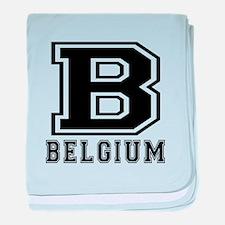 Belgium Designs baby blanket