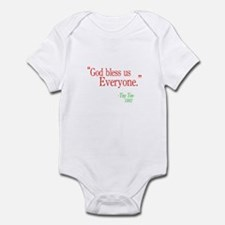 God bless us everyone Infant Bodysuit