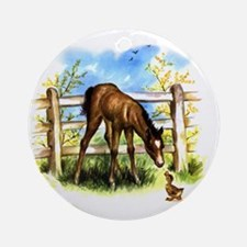 FOAL PLAY Ornament (Round)