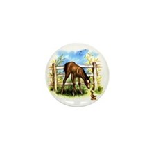 FOAL PLAY Mini Button (10 pack)