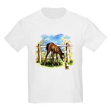 FOAL PLAY Kids T-Shirt
