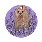 Yorkshire Terrier - YORKIE Ornament (Round)
