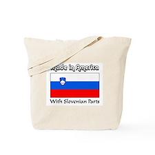 Slovenian Parts Tote Bag