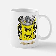 Lopez Coat of Arms - Family Crest Mug