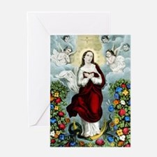 Immaculée conception - 1856 Greeting Card