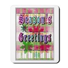 Season's Greetings Mousepad