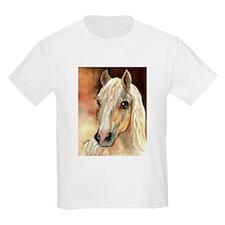 Palomino Horse Kids T-Shirt