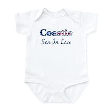 Coastie Son In Law (Patriotic Infant Bodysuit
