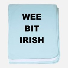 WEE BIT IRISH baby blanket