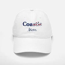 Coastie Mom (Patriotic) Baseball Baseball Cap
