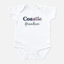 Coastie Grandson (Patriotic) Infant Bodysuit