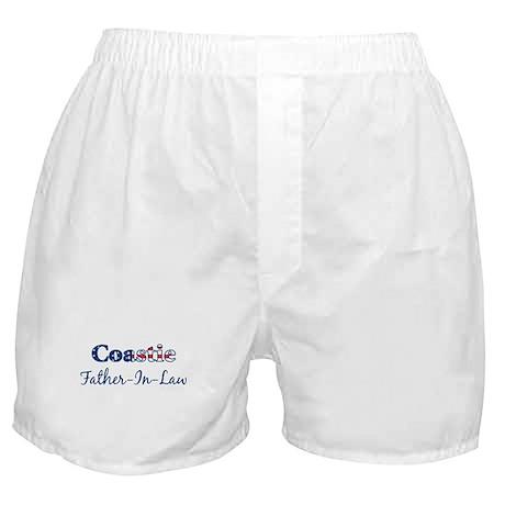 Coastie Father-In-Law (Patrio Boxer Shorts