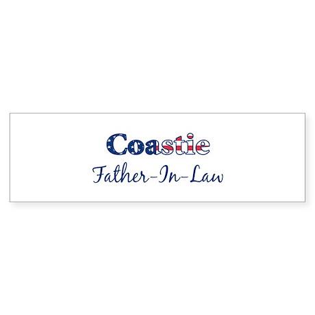 Coastie Father-In-Law (Patrio Bumper Sticker