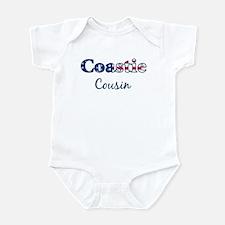 Coastie Cousin (Patriotic) Infant Bodysuit