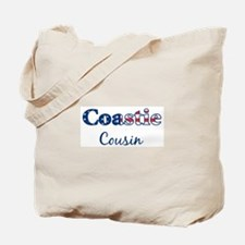 Coastie Cousin (Patriotic) Tote Bag