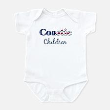 Coastie Children (Patriotic) Infant Bodysuit