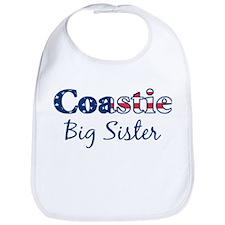 Coastie Big Sister (Patriotic Bib