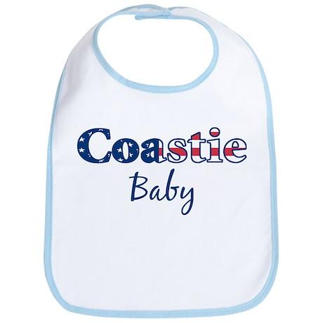 Coastie Baby (Patriotic) Bib
