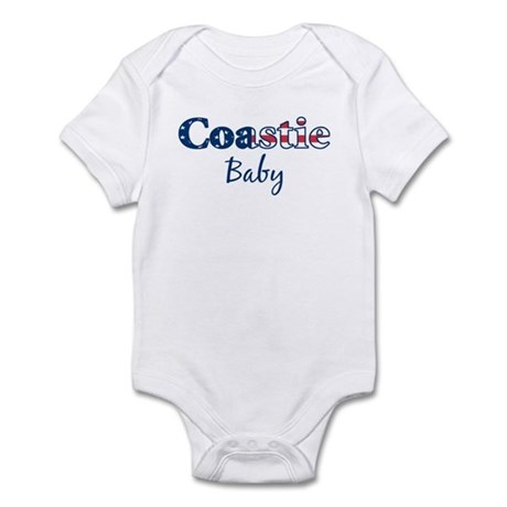 Coastie Baby (Patriotic) Infant Bodysuit