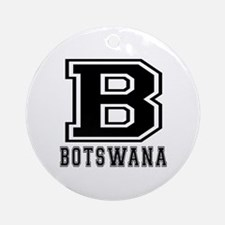Botswana Designs Ornament (Round)