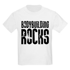 Bodybuilding Rocks Kids T-Shirt