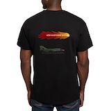 Fb 111 Fitted T-shirts (Dark)
