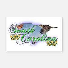 South Carolina Rectangle Car Magnet