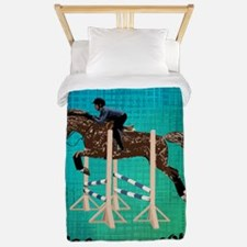 Horses Are Freakin' Awesome Twin Duvet